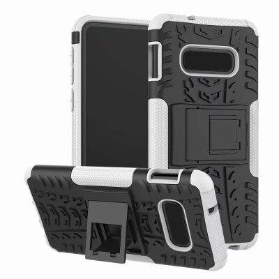 Protective Phone Case with Holder for Samsung Galaxy S10 E