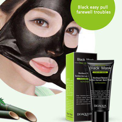Blackhead Remover Nose Black Mask Face Care Mud Pore Strip Starostlivosť o pleť Peel Maska