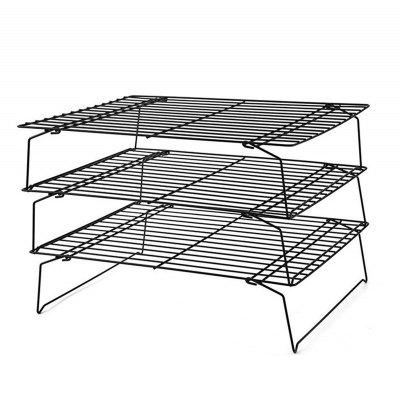 3 Layer Folding Cooling Cake Stand  Cooling Rack for Cookies Cakes More