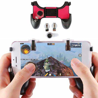 5 en 1 Grip Game Controller Mobile Joystick Gamepad para PUBG