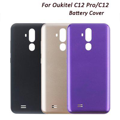 For Oukitel C12 Pro/C12 Mobile Phone Battery Back Cover