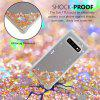 TPU Material Anti-Fall Sand Mobile Phone Case for Samsung Galaxy S10 Plus - GOLD