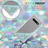 TPU Material Anti-Fall Sand Mobile Phone Case for Samsung Galaxy S10 Plus - SILVER