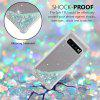 TPU Material Anti-Fall Sand Mobile Phone Case for Samsung Galaxy S10 - SILVER