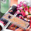 TPU Material Anti-Fall Sand Mobile Phone Case for Samsung Galaxy S10 E - GOLD