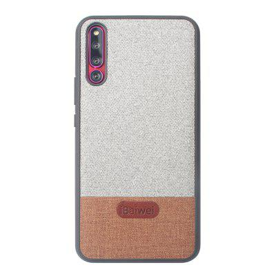 High Quality PU Cloth Fabric Stitching Anti-Fall TPU Case for Huawei Magic 2