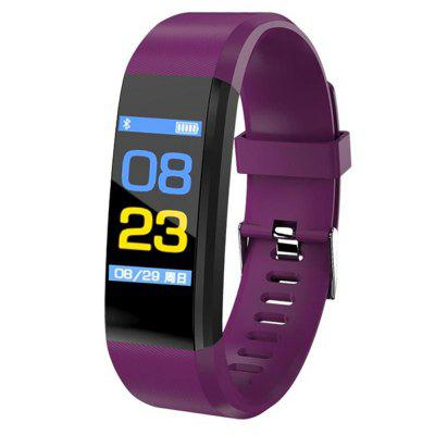 V6 B05 Waterproof Color Screen Heart Rate Meter Step Monitoring Smart Bracelet