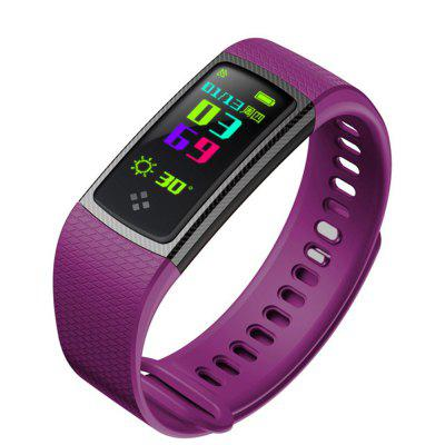 V6 S9 Heart Rate and Blood Pressure Monitor Step Waterproof Smart Bracelet Image