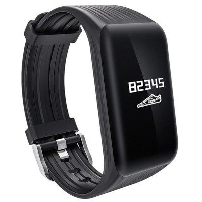 V6 K1 Continuous Heart Rate Sleep Monitoring Waterproof Step Smart Bracelet Image