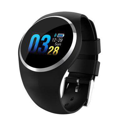 V6 Q1 Heart Rate and Blood Pressure Monitoring Waterproof Smart Bracelet