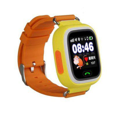V6 Q90  Fashion GPS Phone Positioning Touch Screen WIFI SOS Children Smart Watch Image