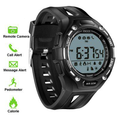 V6 T006 Health Tracker Digital Bluetooth Pedometer Calls for SMS Alert Smartwatch Image