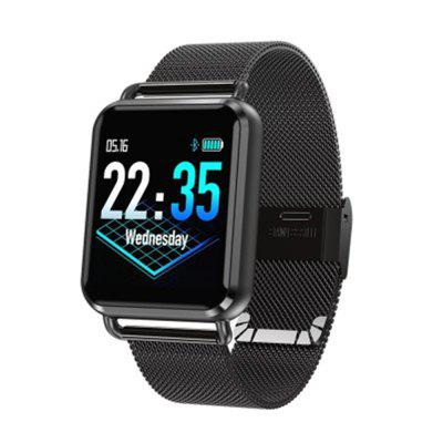 V6 Q3 Dynamic Blood Oxygen Heart Rate Monitor Step Message Push Smart Watch Image