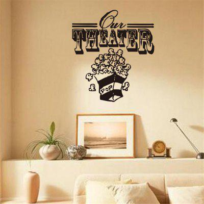 THEATER Art Apothegm Home Decal Wall Sticker Removable