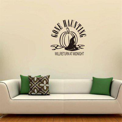 GONE HAUNTING Art Apothegm Acasa Decal Wall Sticker Removable