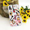 Make Up Daren TPU Wear Proof Soft Protective Case for iPhone XS - MULTI