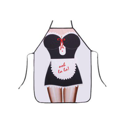 Creative Funny Kitchen Waterproof Apron Sexy Apron