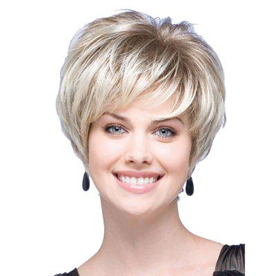 Fashion New High temperature Silk Short Volume Fluffy Wig