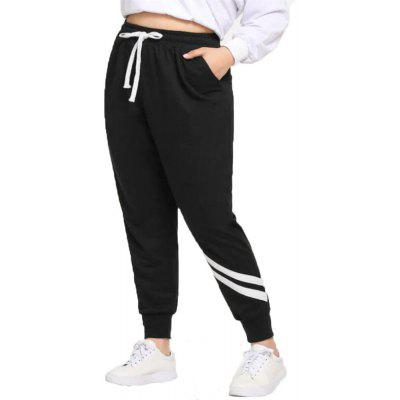 Women's Plus Size Casual Trousers