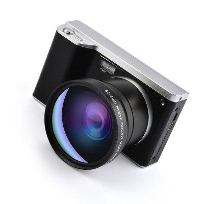 12X Zoom Digital Camera Home 24 Megapixel 4.0 Inch Touch Screen