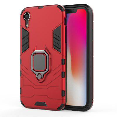 Dla iPhone XR Case Slim Ring Coque Armor Magnetic Attraction Anti-Knock