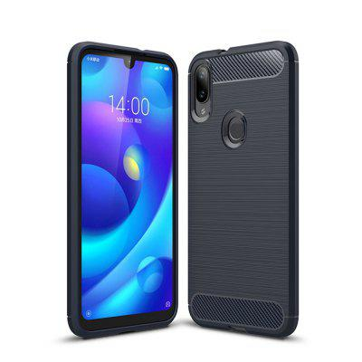 Shockproof Back Cover Carbon Fiber Case for Xiaomi Mi Play