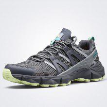 ec6425ac82e6 HUMTTO Men S Hiking Shoes Breathable Mesh Lace-Up Summer Outdoor Sneakers