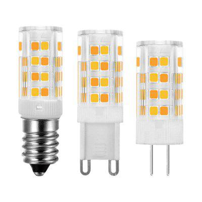 2835 Ceramic Corn Light Dual Color Temperature Adjustable Light 52LED G9 E14 G4