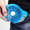 Portable Hand-held Electric USB Fan - DEEP SKY BLUE