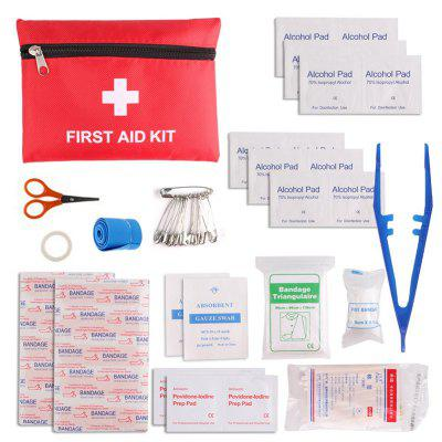 13-PIECE Zestaw pierwszej pomocy Travel Sports Rescue Medical Camping First Aid Kit