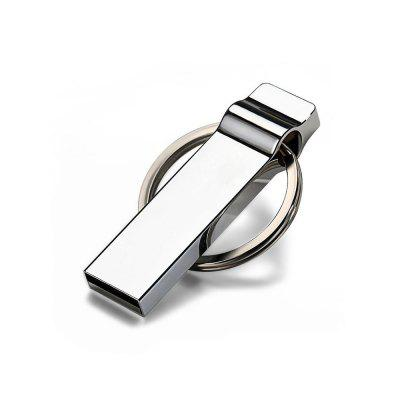 Metal Key Ring USB 2.0 Flash Disk 4 GB / 8 GB / 16 GB / 32 GB / 64 GB / 128 GB U Disk