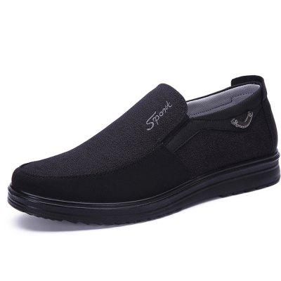 Chaussures Mocassins Slip on Men Casual Chaussures Respirant Mode Doux