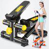 Treadmill Household Mini Hydraulic Mountaineering Treadmill Fitness Equipment - BLACK