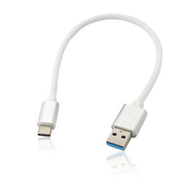 Minismile 3.4a Quick Charge USB 3.1 Type-C Nabíjanie / Data Transfer Cable (25cm)