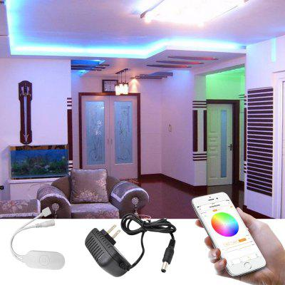 Smart Wireless APP Epoxy Waterproof RGB 5050 Flexible Lamp with 2M 60 LED 5V US