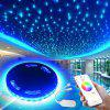 Smart Wireless APP Epoxy Waterproof RGB 5050 Lampada flessibile con 3M 90 LED 5V US - NERO