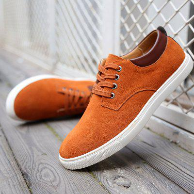 Plus Size Men Casual Lederschuhe Oxfords Mens Flats Fashion Classic Schuh