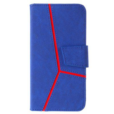 for iPhone 5 / 5S / SE Case Fashion PU Flip Wallet Leather Phone Cover