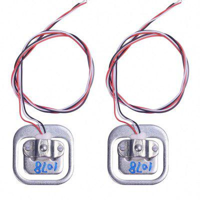 2Pcs 50kg Load Cell Body Scale Weight Weighting  Half-Bridge Module for Arduino
