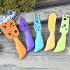5 Pcs Multicolor Cheese Knife Stainless Steel Cheese Fork Kitchen Cooking Gadget - MULTI-A