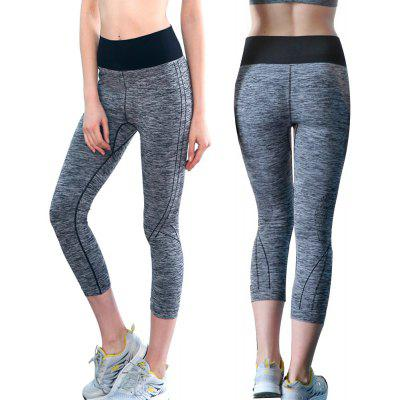Yoga Pants for Women High Waist Capri Legging Ladies Yoga Pants