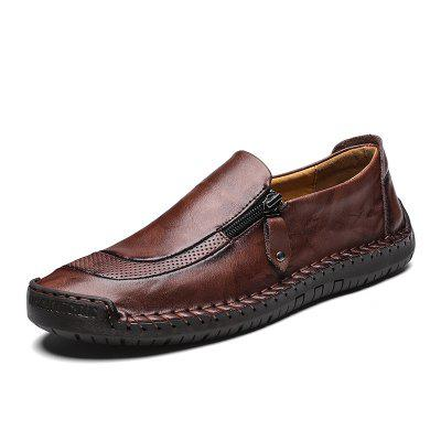 Homens Sapatos Moda Casual Respirável Flats Loafers Men'S Driving Sneakers
