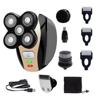 5 in 1 Rechargeable Bald Head Shaver Razor Hair Beard Trimmer Shaving Machine
