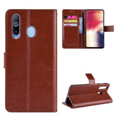 Crazy Horse PU Leather Case For Samsung A8S
