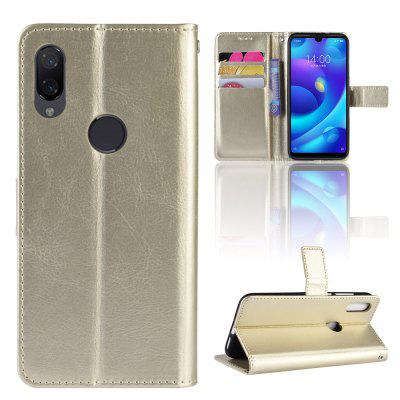 Crazy Horse PU Leather Case For Xiaomi Mi Play