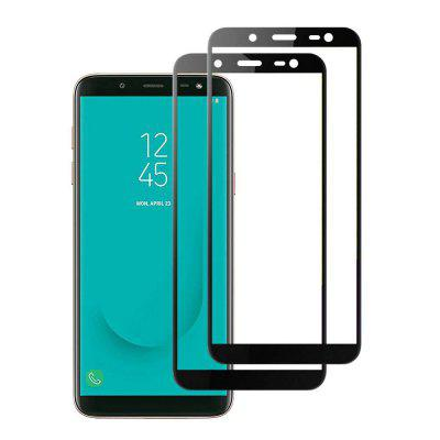 2PCS Screen Protector for Samsung Galaxy J6 HD Explosion-Proof Tempered Glass