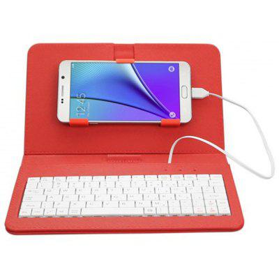 Wire Connected Keyboard voor Android Mobiles