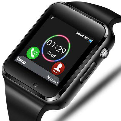 Smart Watch Ondersteuning SIM TF-kaart Bluetooth-oproep Stappenteller Sport Smartwatch