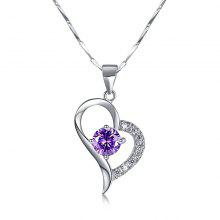 Great 71% OFF SHARKBABY Love Heart Shaped Necklace