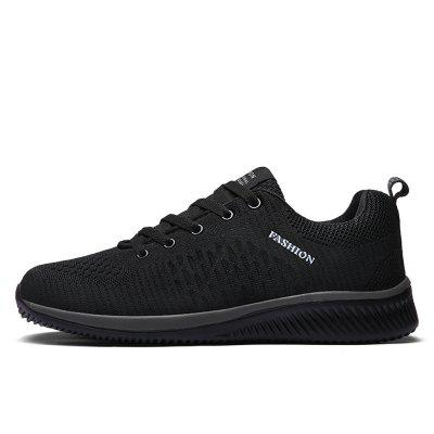 Exclusive New Mesh Hommes Casual Chaussures Lac-Up Men Chaussures Léger Confortable
